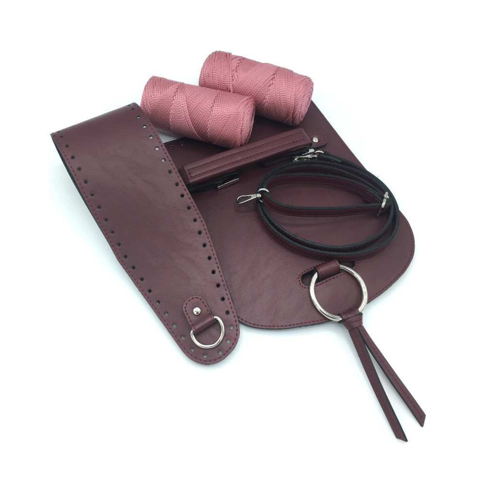 Set Bella bordreaux / pink...