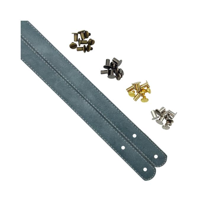 Metall Endstücke gold