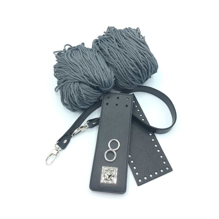Set Irilena schwarz / grau