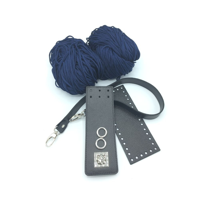 Set Irilena schwarz / blau